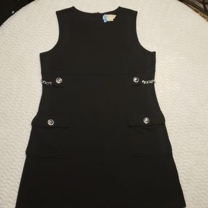 Michael Kors Sleeveless Dress With Side Chains